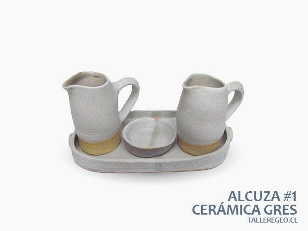 Alcuza de ceramica gres for Pasta para ceramica gres